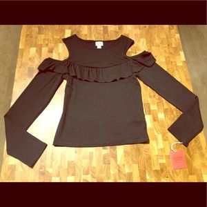 *** Mossimo Black Long-sleeve NWT